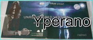 Blue Pearl: naked LP (gatefold with lyrics) David Gilmour + Wright from Pink Floyd guest