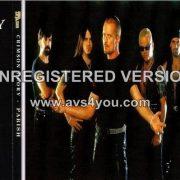 CRIMSON GLORY / PARISH split PROMO CD. Parish incl. former CRIMSON GLORY members. s + video
