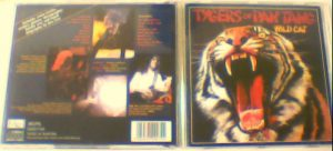 TYGERS OF PAN TANG: Wild Cat CD Edgy Records + 8 extra Tracks, photos, extensive biographical info. Edgy Records UK