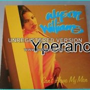 """Alyson Williams: cant have my man 12"""" underrated singer, such a powerhouse. Check video"""