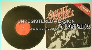 "APRIL WINE: Ladies Man 12"" [features 14 minutes of previously unreleased material] Check videos"