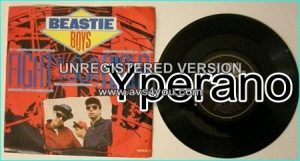 "BEASTIE BOYS: Fight for Your Right (to Party)+Time to Get Ill Classic Rap rock, hard rock 7"" w. Slayer guitarist Kerry King"