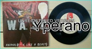 "W.A.S.P: Animal (Fuck like a beast) 7"" + Show no Mercy. £0 FREE for vinyl orders of £80+"