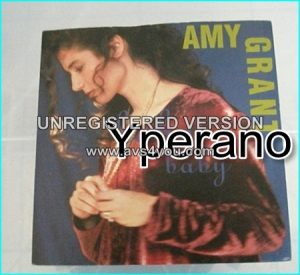 "Amy GRANT: Baby, baby (no getting over you MIX) light A.O.R 7"" Check video"