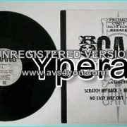 "ROXX GANG: Promo only Special promo 12"". DIFFERENT artwork cover. Check videos."