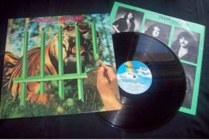 TYGERS OF PAN TANG: The Cage LP + inner. Scandinavia issue. Check video n samples