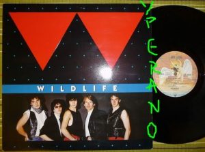 WILDLIFE: Wildlife LP With FM (Overland brothers) + Bad Company members. Killer A.O.R.