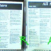 All Stars LP with inner. Featuring the Best of British Heavy Metal n Heavy Rock Musicians. 1991 Thin Lizzy, Saxon, Iron Maiden