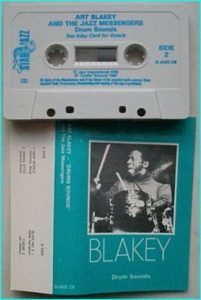 ART BLAKEY: Drum Sounds [Tape] Check samples