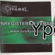 CITADEL: The Creeper CD RARE. HEAVY Metal band with amazing singer, check the VIDEOS