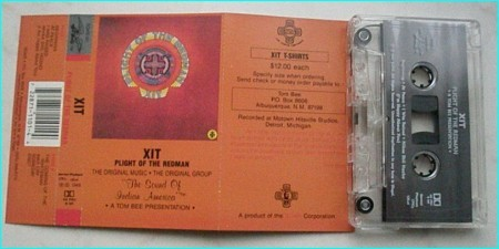 XIT: Plight of the redman [tape] Check sample Native American Indian music