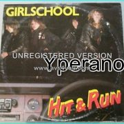 "GIRLSCHOOL: Hit n run 10"" vinylRARE LIMITED. Check video"