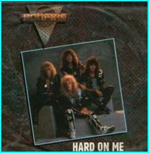 "BONFIRE: Hard On Me * scarce 1989 UK 7"" vinyl single in a great picture-sleeve cover* Check video"