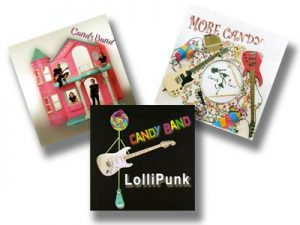 CANDY BAND: Get First THREE Candy Band CDS £10 The Ramones play music for kids Amazing concept, really well done CHECK video