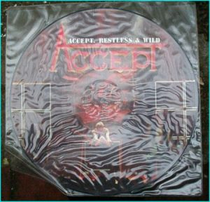 ACCEPT: Restless n Wild LP [Picture disc album. All songs are truly excellent] Check videos