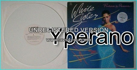WHITE SISTER: Fashion by Passion WHITE VINYL LP. Check videos