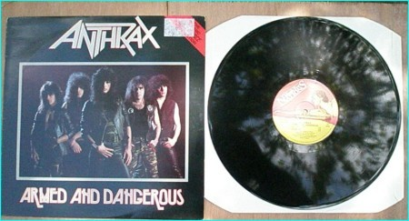 ANTHRAX: Armed And Dangerous M.F.N. 7 songs (Sex Pistols cover live demo) Direct Metal Mastering Check videos