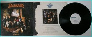 DOMAIN: Our Kingdom [Great Epic-y band from Germany. Promo LP Copy] Check video