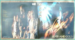 ASAP: Silver And Gold LP [Gatefold Adrian Smith, the IRON MAIDEN guitarists band immediately after he left Maiden]