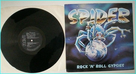 SPIDER: Rock n Roll Gypsies LP. Very entertaining band, check live audio sample