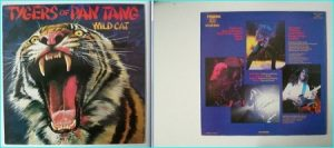 TYGERS OF PAN TANG: Wild Cat LP SIGNED, autographed. Check samples