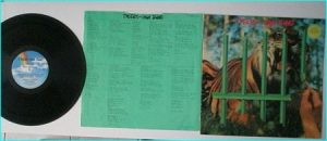 TYGERS OF PAN TANG: The Cage LP ( inner) Check video