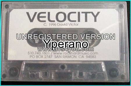 VELOCITY: Impact A.O.R promo [Tape] 1996 Pat Torpey from Mr. Big drums