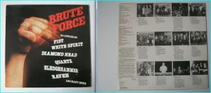 BRUTE FORCE rare N.W.O.B.H.M compilation LP