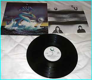 ASIA: Asia (S/T) LP. HEAT OF THE MOMENT, ONLY TIME WILL TELL etc. check VIDEOS