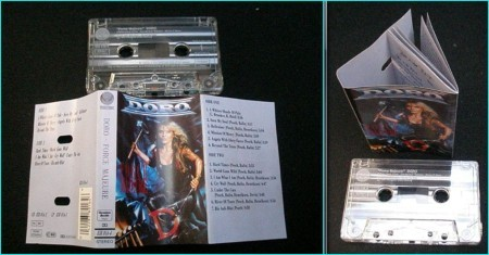 Doro Force Majeure tape with huge booklet VIDEOS