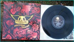 AEROSMITH: Permanent Vacation LP. Check videos.