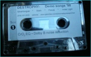 Destrophy promo tape 98 www.destrophy.com