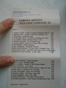 Yule Cool VARIOUS ARTISTS Christmas songs (Virgin Records 1994)