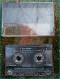 IRON MAIDEN The number of the beast (has no cover) Free for orders of £20 from cassette tapes orders only.