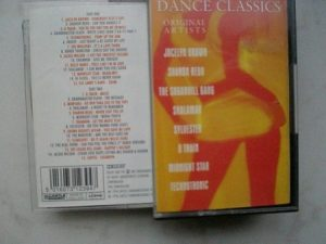 Dance Classics tape Various