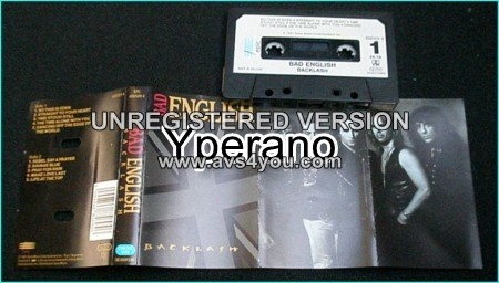 BAD ENGLISH: Backlash [ tape ] Check samples + video. John Waite, Neal Schon, Deen Castronovo. Journey members
