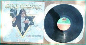 ALICE COOPER: Welcome to My Nightmare LP [Incl. Only Women Bleed etc]