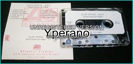 GLEN TIPTON (Judas Priest Guitarist): Baptizm of Fire [PROMO tape] Rolling Stones cover Check samples