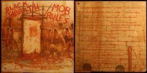 BLACK SABBATH: Mob Rules LP