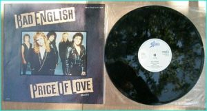 BAD ENGLISH: Price of Love [John Waite (Ex- Babies on Vocals, Neal Schon (Ex-Santana Journey) guitar. Check video