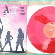 "A-II-Z: No Fun After Midnight 12"" Red Vinyl. RARE N.W.O.B.H.M. Check sample"