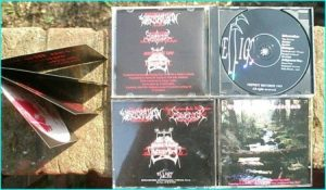 Effigy Of The Possessed CD. Evisceration, Esmegor, Judgement Day. RARE Check samples. HIGHLY RECOMMENDED Mint condition