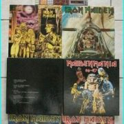 IRON MAIDEN: MAIDEN MANIA 80 - 87 autographed SIGNED Greek BOX SET. Ultra MEGA RARE. Check 4 minute video of this very item