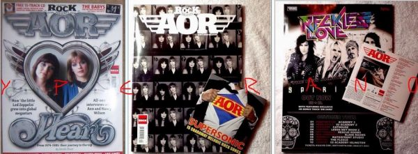 Classic Rock presents AOR Dont stop believin Issue 9. Heart special n the top 30 UK obscure AOR bands . With CD.