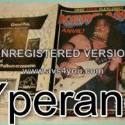 KERRANG NO. 43 Anvil. Iron Maiden, Diamond Head, Cozy Powell, Ramones, Accept, Raven, Journey, Aerosmith, Sammy Hagar,