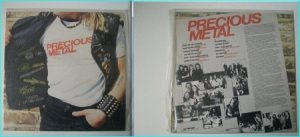 PRECIOUS METAL Rare Hard Rock / N.W.O.B.H.M compilation LP [Tygers of Pan Tang, Budgie (Breadfan), etc.