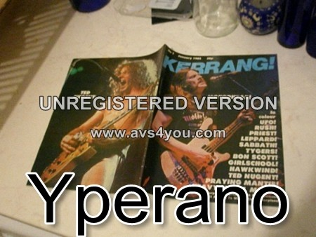 KERRANG 7. Jan 1982 (LEMMY - MOTORHEAD, UFO, RUSH, JUDAS Priest, DEF LEPPARD, Black Sabbath, Tygers of Pan Tang