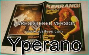 KERRANG No. 60 David Coverdale Whitesnake, Saxon, Rox, Iron Maiden, Thor, Hellion, Van Hallen, Queen