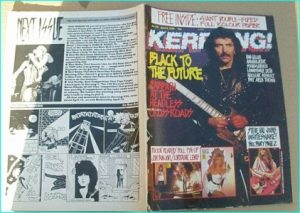 KERRANG - No.233 BLACK SABBATH, IAN GILLAN, Dream Theater, Nuclear Assault, Soundgarden, Extreme, Lawnmower Deth, The Cult