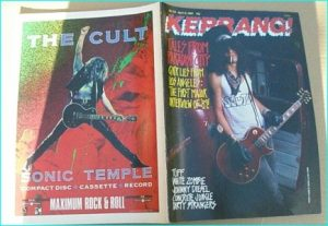 KERRANG - No.234 (Guns N Roses Slash cover, Tuff, White Zombie, Tigertailz, Tankard, Black Sabbat, Thin Lizzy, Wrathchild